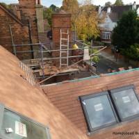 Roof & Property Refurbishment in Hampstead